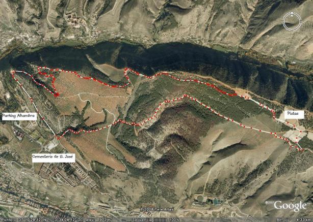 Circuito de trail por el Llano de la Perdiz