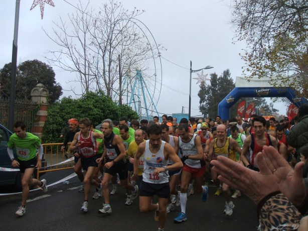 Salida de la Media Maratón