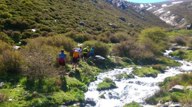 Granada Ultra Trail en los Lavaderos de la Reina